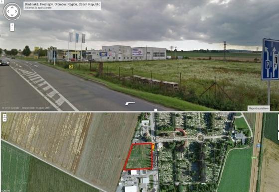 Pozemek Prostějov